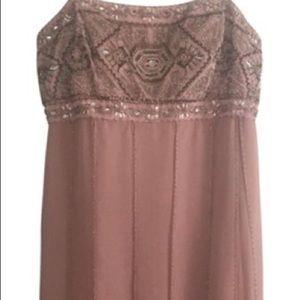 Sue Wong Light Pink/Rose Cocktail Dress